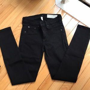 RAG AND BONE LEGGINGS JEAN IN BLACK